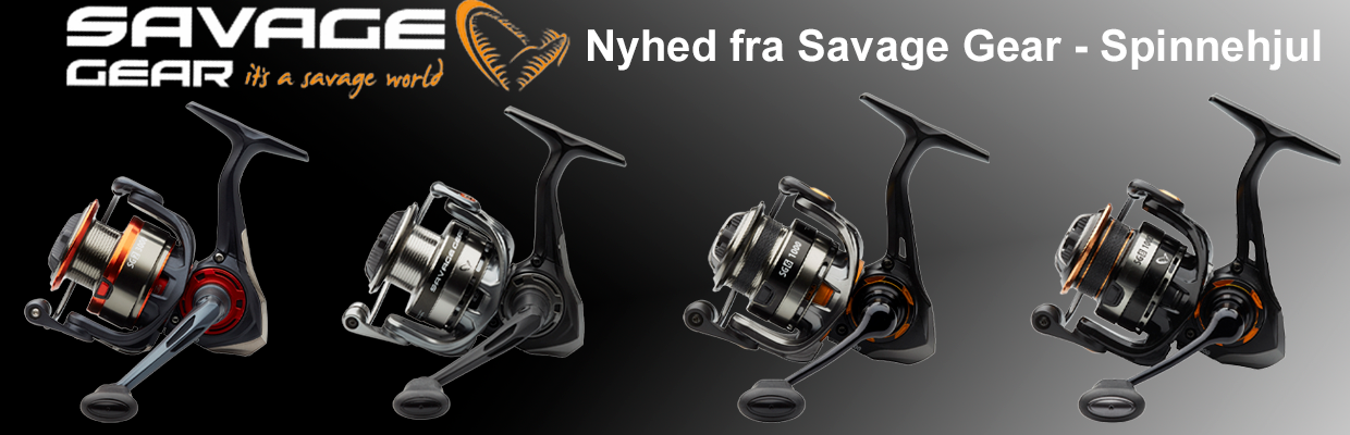 Savage Gear Spinnehjul - 2021 NYHED