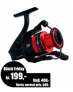 Abu Garcia Black Max SP30 - Spinnehjul - Black Friday