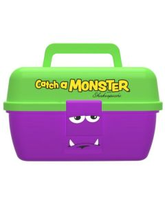 "Shakespear ""catch a monster"" play box Grejæske - Grøn/Lilla"
