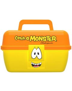 "Shakespear ""catch a monster"" play box Grejæske - Orange/Gul"
