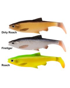 Savage Gear 3D Roach Paddle Tail - 7,5cm - 5g - 4 stk kit