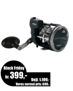 Okuma Classic Linecounter XPD trolling/havhjul - XPD- 30Da - Black Friday