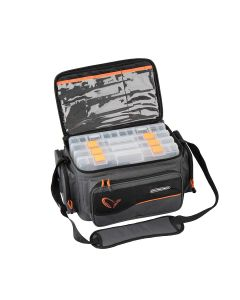 Savage Gear System Box Bag L 4 boxes (24x47x30cm)