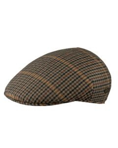 MJM Sixpence Country Wool Green Check - Herre model