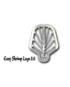 Easy Shrimp Legs 2.0 - 6 stk - Medium Super Fluo Transparent