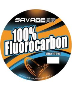 Savage Gear 100% Fluoro Carbon - 50 meter