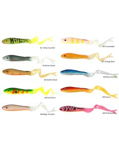 iFish The HitmanSoft Tail - 8cm