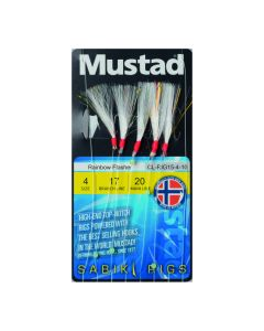 Mustad Multicolour Flash Rig15- Sildeforfang - #4
