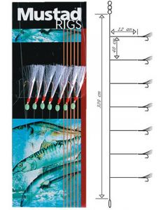 Mustad T83 Rig - Sildeforfang - #6