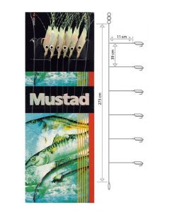 Mustad T91 Rig - Sildeforfang - #4