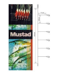 Mustad T93 Rig - Sildeforfang - #6