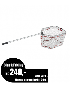 Abu Garcia Folding Landing Net-Large (L) - Black Friday