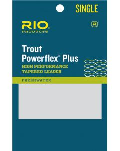 Rio Powerflex Plus - Tapered Leader - Single 9'