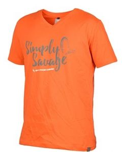 Savage Gear Simply Savage T-Shirt - orange
