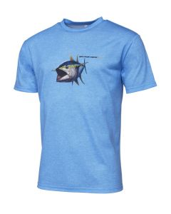 Savage Gear Pike Tee - T-shirt Blue Melange