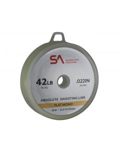 Scientific Anglers - Absolute Shooting Line Flat Mono 25lb 30m Yellow