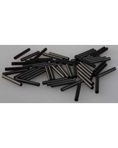 Savage gear Wire Crimps Dull Black - 50 stk.