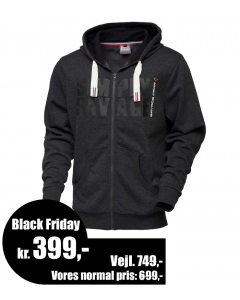 Savage Gear Simply Savage Raw Hoodie - Lynlåstrøje