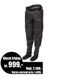 Savage Gear #SAVAGE Denim Waist Waders - Stocking Foot