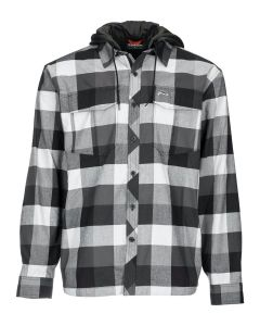 Simms Coldweather Hoody Slate Buffalo Plaid