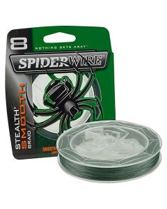 SpiderWire Stealth Smooth 8 Braid - Moss Green -150m