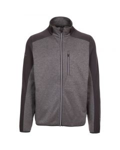 Trespass Tansorton Fleece Jakke - Storm Grey