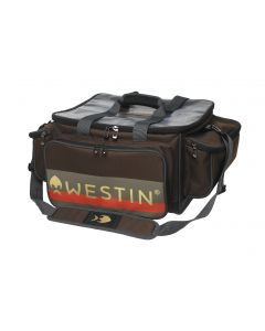 Westin W3 Jumbo Lure Loader Grej taske - Grizzly Brown/Black
