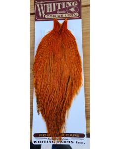 Whiting Coq De Leon Cape - Badger Burnt Orange